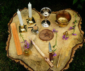 altar, spirituality, and witch image