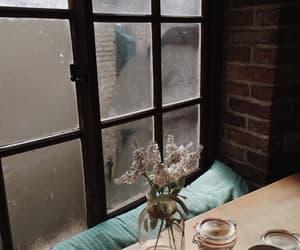 coffee, coffee shop, and cozy image