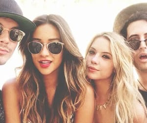 caleb, frinds, and pll image