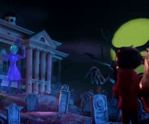 disney, gif, and the haunted mansion image