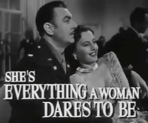 barbara stanwyck, gif, and george brent image