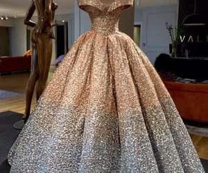 ball gown, dress, and fancy image