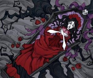 disney, snow white, and Halloween image
