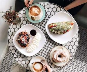 breakfast, coffee, and enjoy image