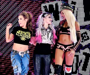 wwe, alexa bliss, and mickie james image