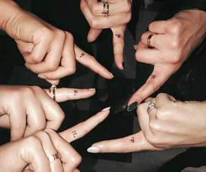 Tattoos, pll, and friends image
