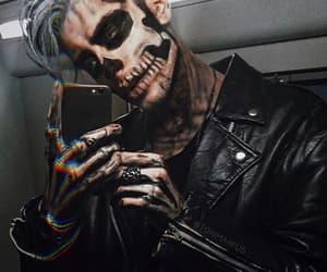 boy, Halloween, and black image