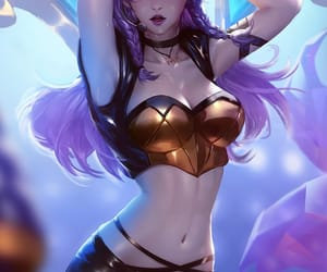 kai'sa and league of legends image