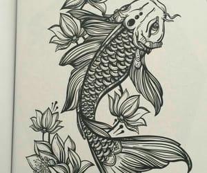 drawing and lotus image