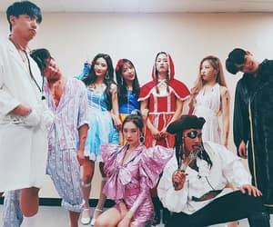 dancers, Halloween, and korean image