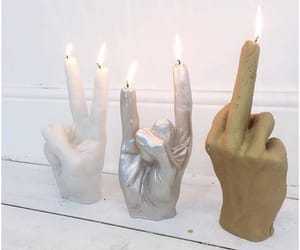 aesthetic, rock 'n roll, and candles image