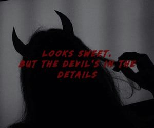 aesthetic, Devil, and fall image