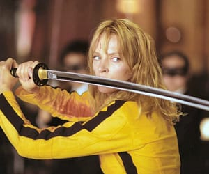 kill bill, uma thurman, and movie image