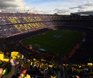 Barca, fc barcelona, and camp nou image