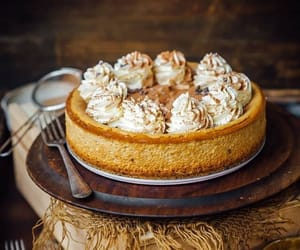 autumn, cake, and food image
