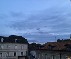 blue, french, and sky image