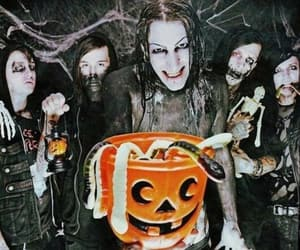 Halloween, model, and motionless in white image