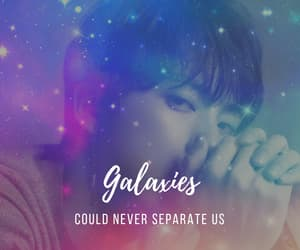 edit, galaxy, and seokjin image