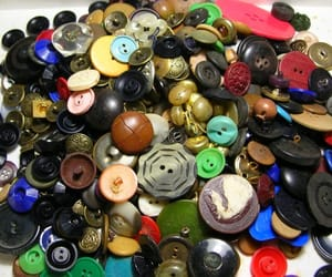 etsy, vintage buttons, and vintage button image