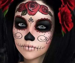 Halloween, makeup, and catrina image