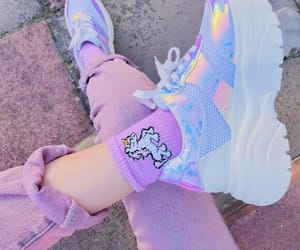 colorfull, cotton candy, and cute image