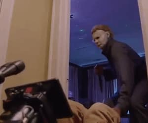behind the scenes, gif, and Halloween image