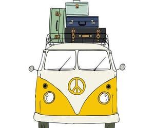 art, hippie, and illustration image