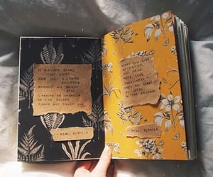 aesthetic, journaling, and black image
