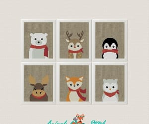 christmas card, etsy, and gifts image