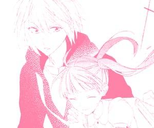 kawaii, pink aesthetic, and pink manga image