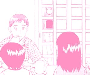 yotsuba, yotsubato, and manga aesthetic image