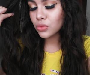 girls, makeup, and actriz image