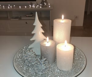 candle, christmas, and december image