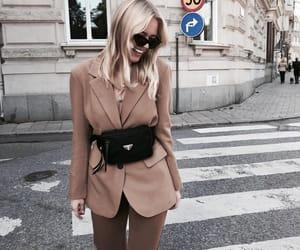blazer, fall, and fashion image