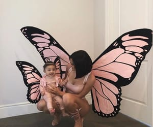 butterfly, daughter, and love image