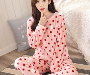 pajama and pink image