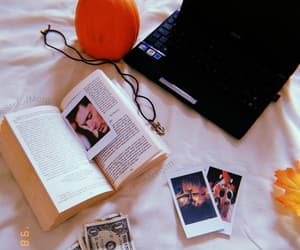 books, fall, and Jensen Ackles image