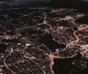 light, city, and travel image