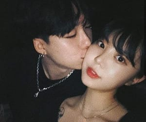 alternative, asian, and couple image