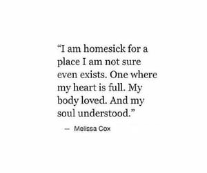 quotes, homesick, and heart image