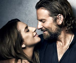 Lady gaga, bradley cooper, and a star is born image