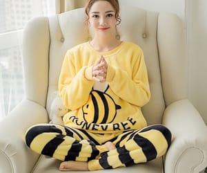 bee, pajama, and winter image