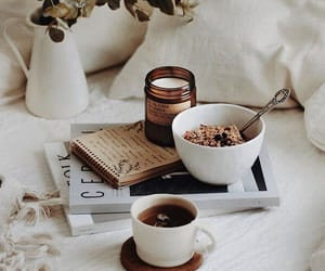 breakfast, relax, and tea image