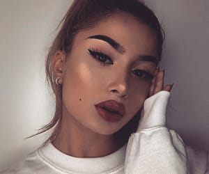 beautiful lady, pretty girl girls, and makeup goal image