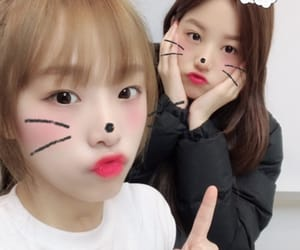 izone and jang wonyoung image