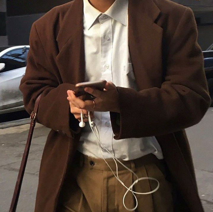 aesthetic, fashion, and brown image