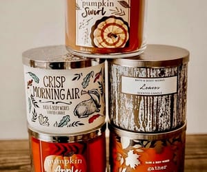 fall, autumn, and candles image