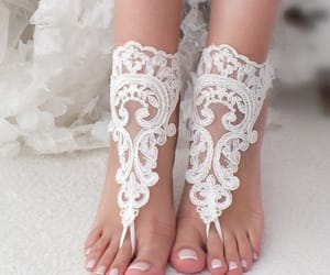 etsy, lace shoes, and beach shoes image