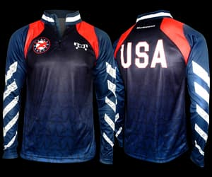 youth wrestling gear, warm up gear, and wrestling quarter zip image