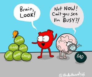 brain, heart, and reminder image